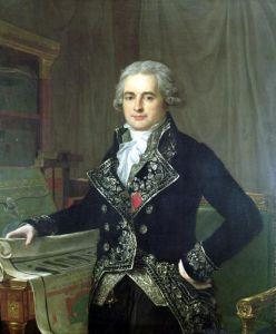 Portrait of Jean Antoine Chaptal Comte de Chanteloupe by Anicet-Charles Lemonnier