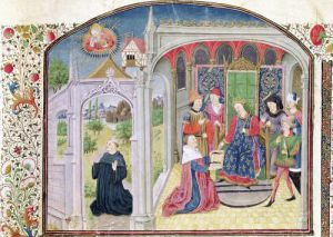 Presentation of The Ethics to the King by the Translator by French School