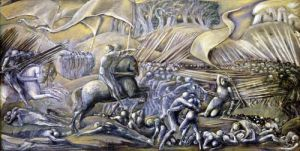 The Battle of Flodden Field 1882 by Sir Edward Burne-Jones