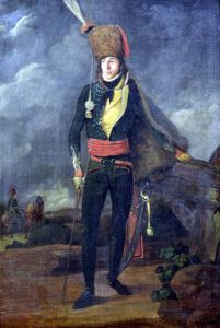 Lieutenant of the 8th Hussars by French School