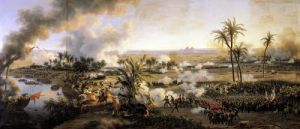 Battle of the Pyramids 1806 by Louis Lejeune