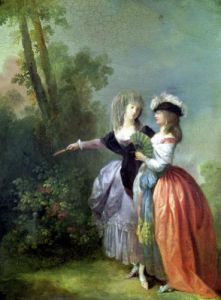 The Go-Between 1780 by Jean-Frederic Schall