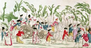 The Triumphant Parisian Army Returning to Paris 1789 by French School