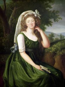 Portrait of the Countess du Barry 1789 by Marie Elisabeth Louise Vigee-Lebrun