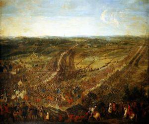 Battle of Fleurus 1690 by Pierre-Denis Martin