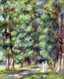 Path in a Wood 1910 by Pierre Auguste Renoir