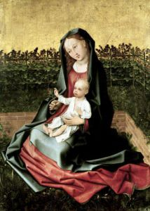 Virgin and Child in the Small Garden c.1470 by French School