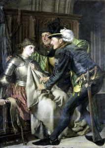Joan of Arc Insulted in Prison 1866 by Isidore Patrois