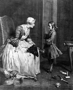 The Governess 1739 by Jean Baptiste Chardin
