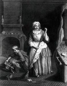 The Housekeeper by Jean Baptiste Chardin