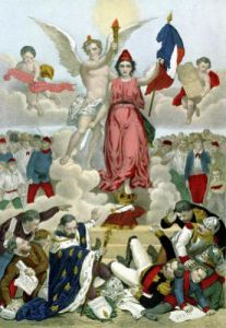 Triumph of the Republic 1875 by French School