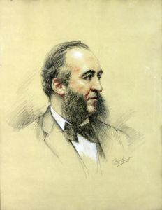 Portrait of Jules Ferry by Paul Sarrut