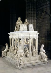 View of the Tomb of Louis XII and Anne of Brittany by Jean Juste I