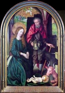 The Nativity c.1478 by Martin Schongauer