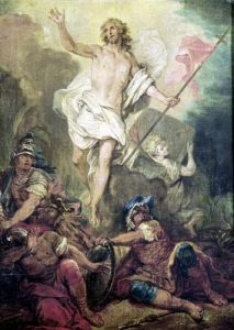 Study for the Resurrection by Nicolas Bertin