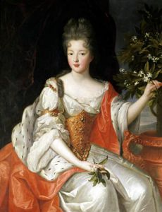 Portrait of Louise-Francoise de Bourbon by French School