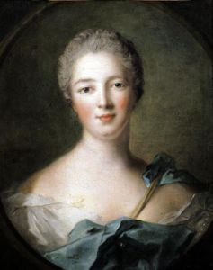 Madame de Pompadour 1748 by Jean-Marc Nattier