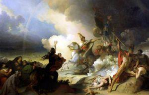 Saladin I in Jerusalem c.1830 by Alexandre Evariste Fragonard