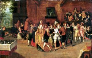 Ball during the Reign of Henri III 1574 by French School