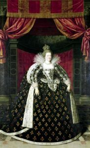 Marie de Medici in Coronation Robes c.1610 by Frans Pourbus II