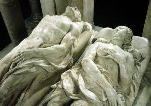 Tomb of Catherine de Medici and Henri II 1562 by Germain Pilon