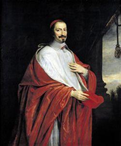 Portrait of Jules Mazarin by Philippe de Champaigne