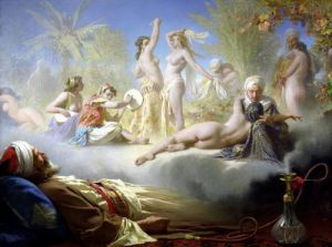 The Dream of the Believer c.1870 by Achille Zo