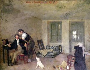 My Room in 1825 by Octave Tassaert