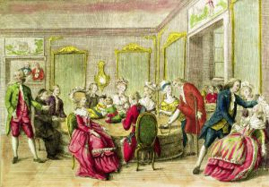 Hypnotism Session with Anton Mesmer 1784 by French School