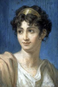Portrait of Mademoiselle Georges by French School
