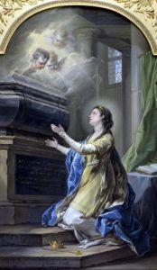 St. Clotilda by Charles Andre Van Loo