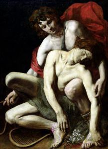The Death of Hyacinthus by Italian School
