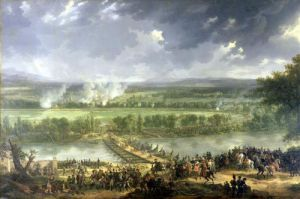 Battle of Pont d'Arcole 1803 by Baron Louis Albert Bacler d'Albe