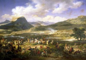 Battle of Mount Thabor 1808 by Louis Lejeune