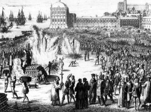 Method of Burning those Condemned by the Inquisition by Flemish School