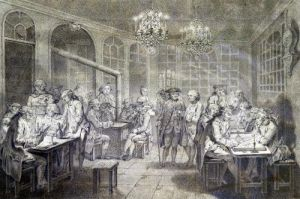 Interior of the Cafe Manouri c.1775 by Jacques Treton de Vaujas