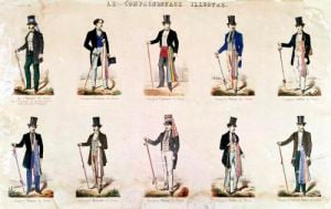 Costumes of various professions 'Le Compagnonnage Illustre' by French School