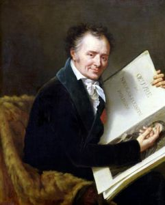 Portrait of Dominique Vivant Baron Denon 1808 by Robert Lefevre