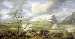 The Battle of Rivoli 1797 by Baron Louis Albert Bacler d'Albe