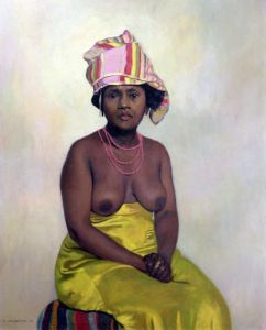 African Woman 1910 by Felix Vallotton