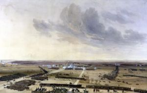 The Battle of Montmirail 1814 by Jean Antoine Simeon Fort