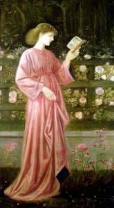 Princess Sabra 1865 by Sir Edward Burne-Jones