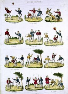 Children's Games 1810 by French School