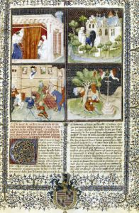 The Story of Lancelot and the Quest for the Holy Grail by French School