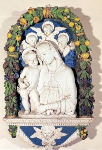 Virgin and Child by Andrea Della Robbia
