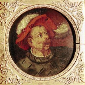 Head of a Lansquenet by Pieter Brueghel The Elder