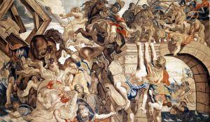 Battle of Pons Milvius by Peter Paul Rubens