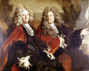 Portrait of Alderman Hugues Desnots and Alderman Bouhet by Nicholas de Largilliere