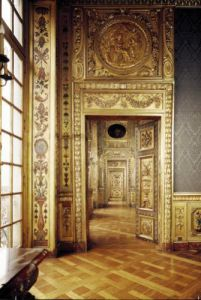 View of the enfilade 1650 by Louis Le Vau