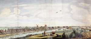 Entrance of Marie de' Medici into Holland in 1639 by French School